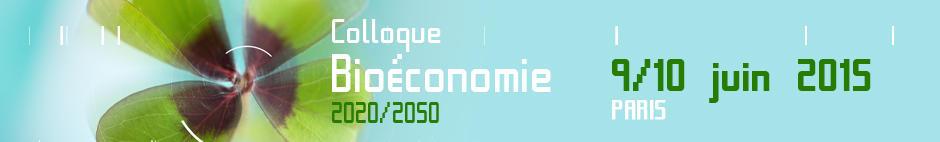 Bienvenue sur le site du colloque Bioéconomie 2020 2015