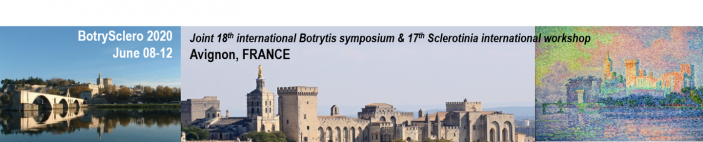 Welcome to BotrySclero2020 symposium  - AVIGNON - FRANCE - June 08-12, 2020