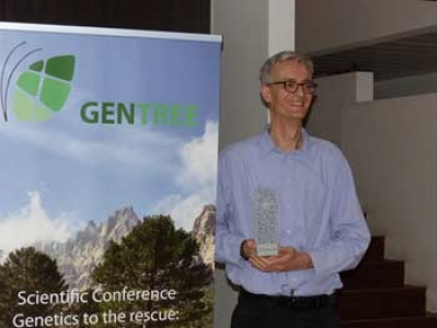 Bruno Fady, senior scientist at INRAE and the coordinator of GenTree