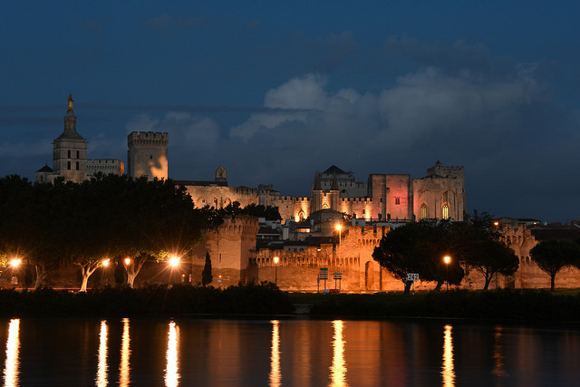 The Pope's Palace in Avignon. Credit: Herbert Frank/flickr