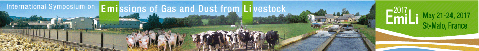 International Symposium on Emissions of Gas and Dust from Livestock