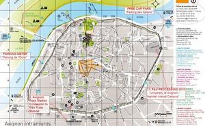 Avignon Map