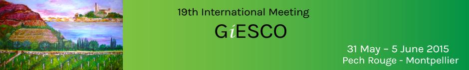 Welcome Giesco 2015