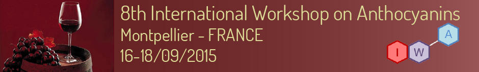 8th International Workshop on Anthocyanins