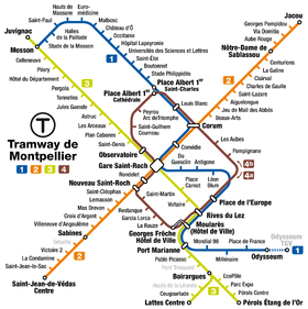 Montpellier_tramway_map