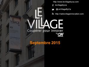 20150910 Présentation Village_SV