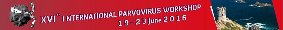 Welcome Parvovirus 2016