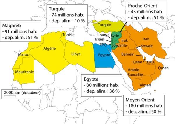 Carte Afrique Orient.Pluriagri Le Devenir Du Systeme Agricole Et Alimentaire De
