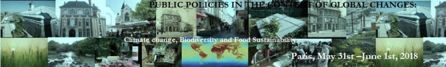 Public policies in the context of global changes