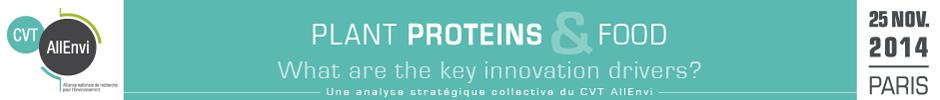 """CVT AllEnvi - Séminaire """"Protéines végétales & alimentation"""""""