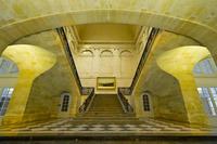 La Bourse stairs