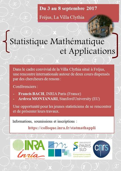 Affiche StatMathAppli17 du 309 au 08092017 FREJUS