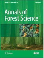 couverture Annals of Forest Science