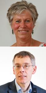 Mrs Jorine ROMMERS and M. Karel De GREEF