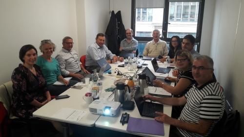 Local Organising Committee in action in ITAVI building